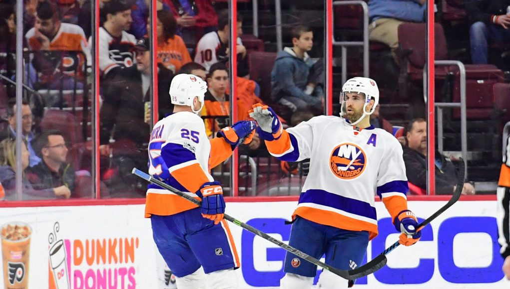 New York Islanders: Andrew Ladd and Jason Chimera are now playing their best 1