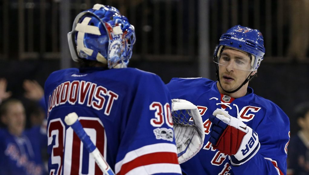New York Rangers: The best way to handle Henrik Lundvist and his playing time