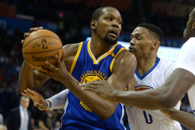 2017 NBA All-Star Game: Kevin Durant and Russell Westbrook reunited