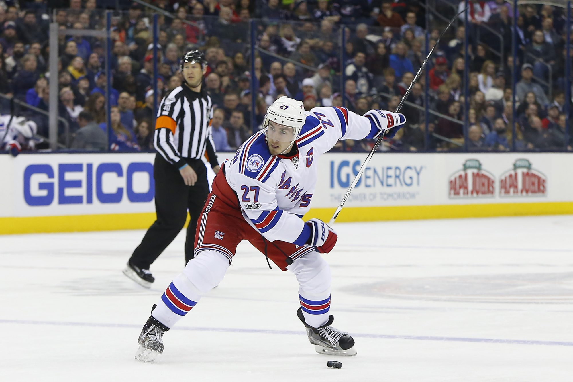Jimmy Vesey's special goal lifts New York Rangers over Blue Jackets (Highlights)