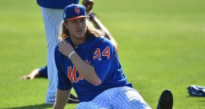 Noah Syndergaard and a beloved New York Mets figure are feuding