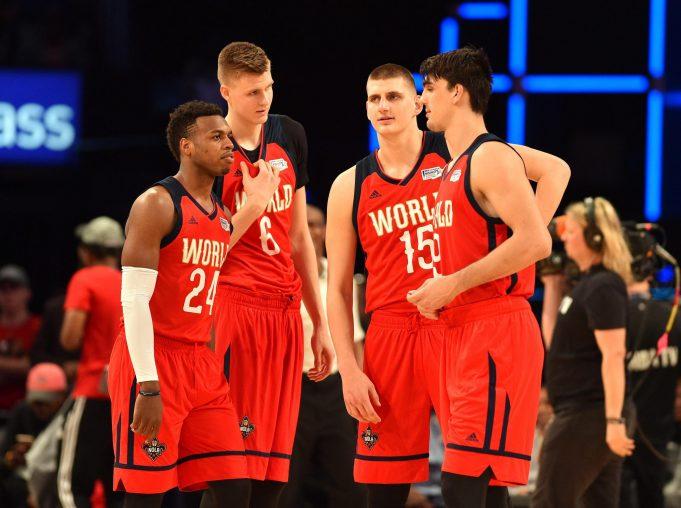 Kristaps Porzingis' Rising Stars performance was better than a Knicks game (Highlights)