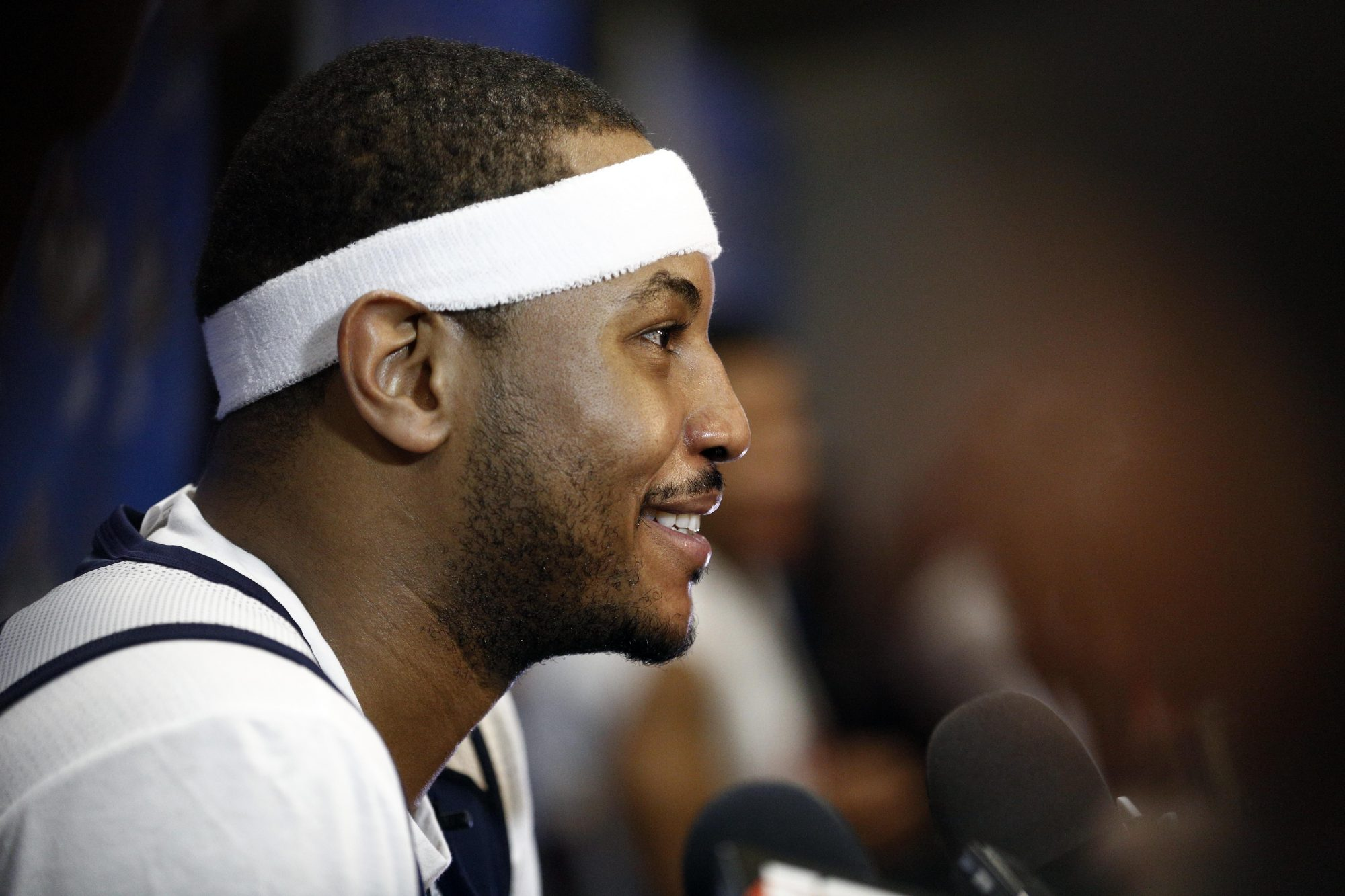 Carmelo Anthony intends to stay with the New York Knicks (Report)