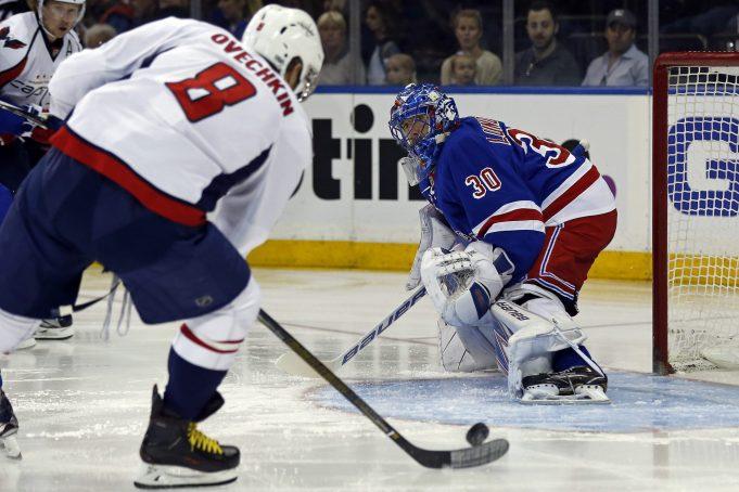Henrik Lundqvist leads the NY Rangers past the Washington Capitals, 2-1 (Highlights)
