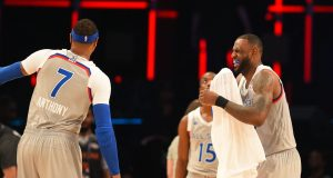 Trading Carmelo Anthony to the Cleveland Cavaliers would ruin the NBA