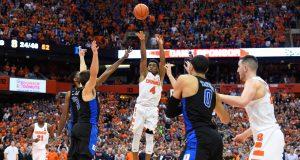 John Gillon's game-winner propels Syracuse past Duke as the Carrier Dome explodes (Highlights) 1