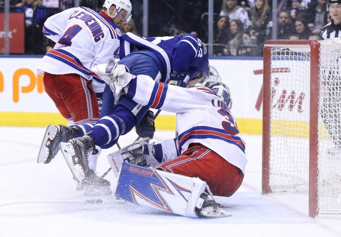 Henrik Lundqvist outduels Andersen as New York Rangers beat Leafs in SO (Highlights)