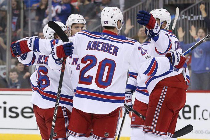 Mika Zibanejad's OT goal lifts New York Rangers over New Jersey Devils (Highlights)