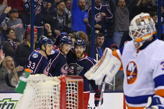 New York Islanders picked apart in Columbus, surrender 7-0 to Blue Jackets (Highlights) 2
