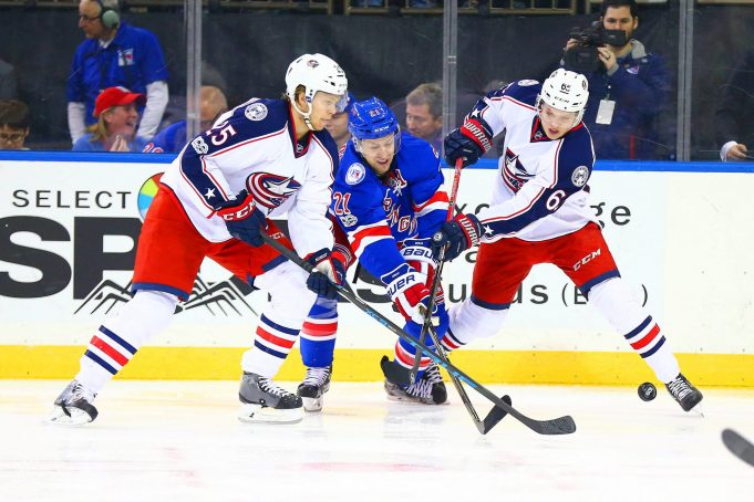 New York Rangers get outmuscled by John Tortorella's Columbus Blue Jackets, 5-2 (Highlights)