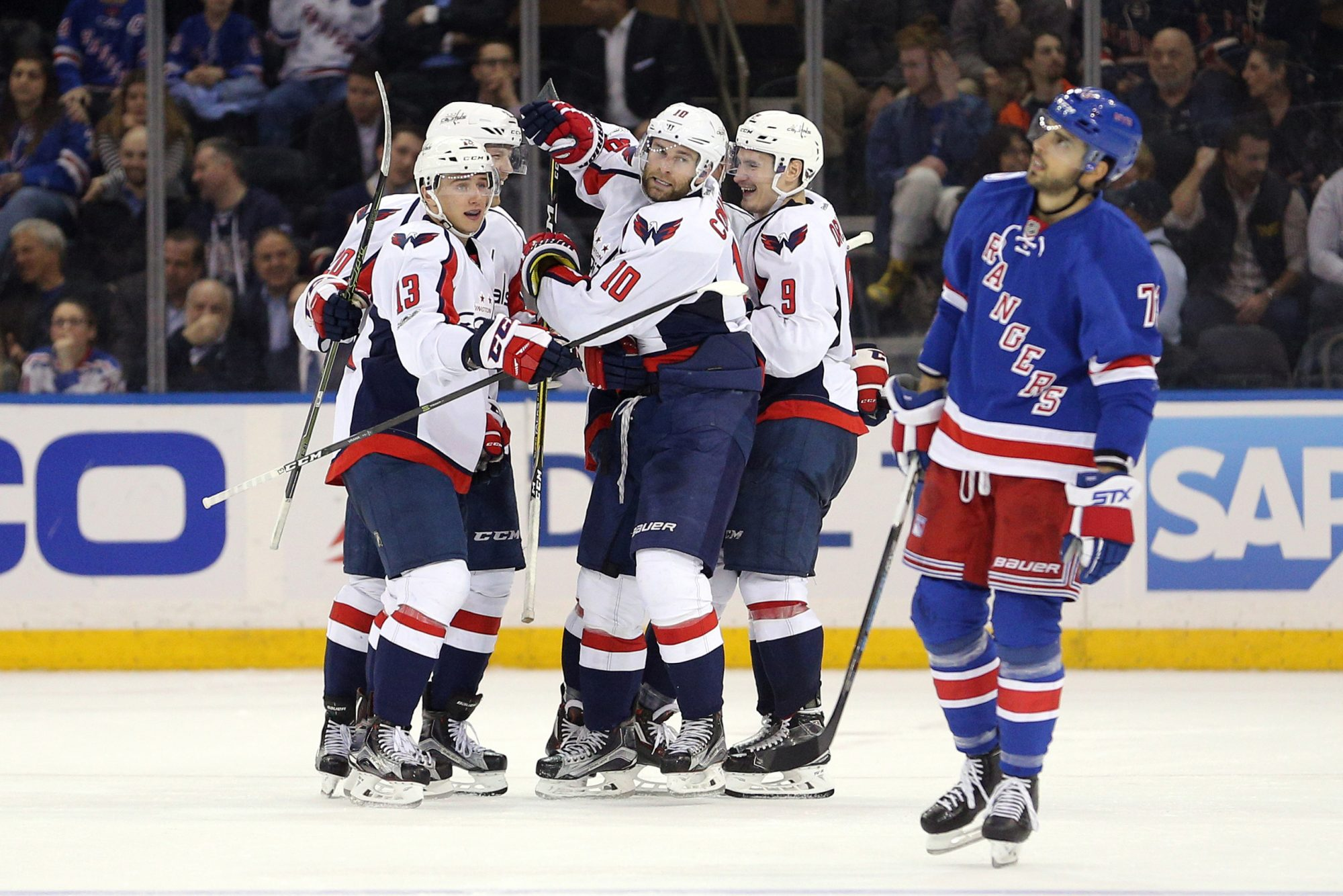New York Rangers thoroughly outclassed by Washington Capitals (Highlights)