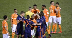 NYCFC star David Villa shown red for preseason punch (Video)