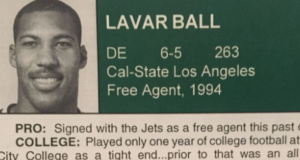 Check Out LaVar Ball On the New York Jets Training Camp Roster 2