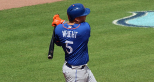 New York Mets' Wilmer Flores Wears David Wright's Jersey In-Game (Photo)
