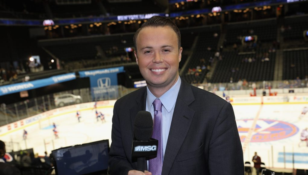 Q&A with New York Islanders Voice, MSG Networks' Brendan Burke