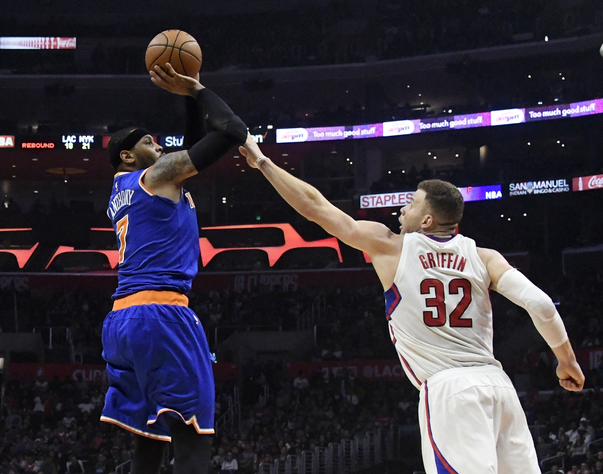 New York Knicks Will Begin Shortening Carmelo Anthony's Minutes