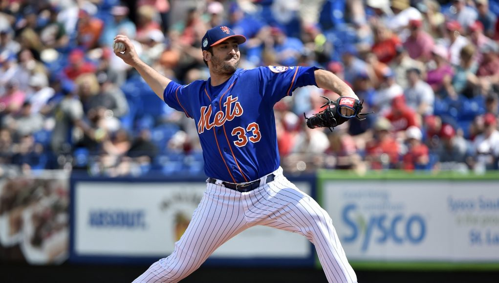New York Mets: Matt Harvey struggled in his spring debut ... and that's OK