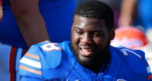 New York Giants expressing interest in Florida offensive line prospect
