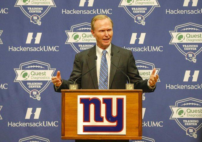 John Mara New York Giants