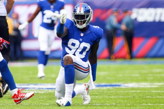 Franchise Tagging Jason Pierre-Paul Proves the New York Giants are all in on 2017