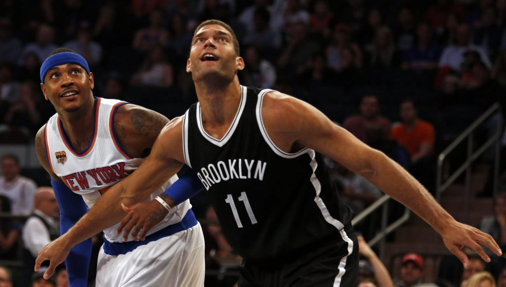 NBA DFS Plays for Mar. 16, 2017: Carmelo Anthony and Brook Lopez at the Mecca 2