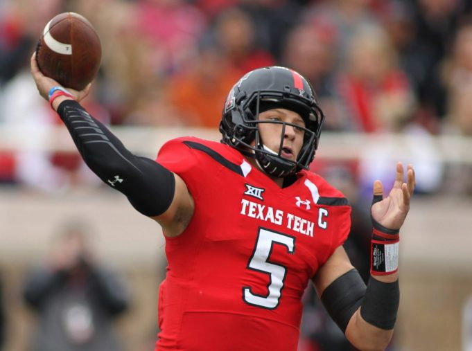 New York Giants Have An Interest In Texas Tech Quarterback Patrick Mahomes II