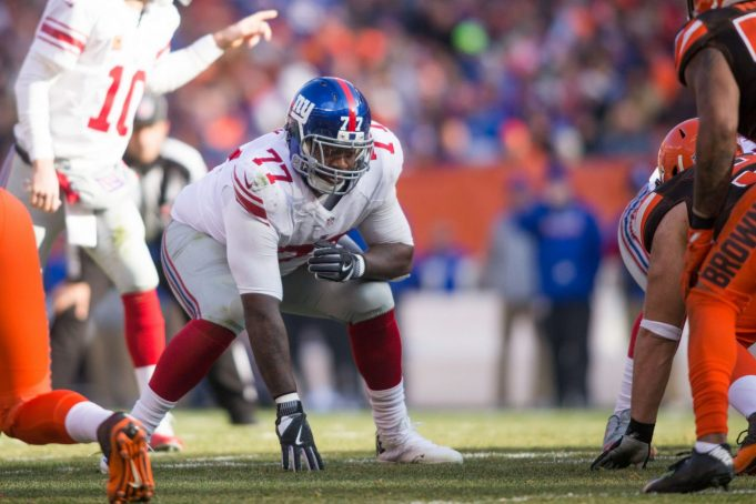 Guard John Jerry Re-Signs With the New York Giants