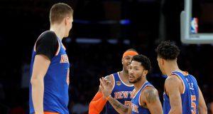 New York Knicks: Kristaps Porzingis, Derrick Rose on Lack of Team Chemistry