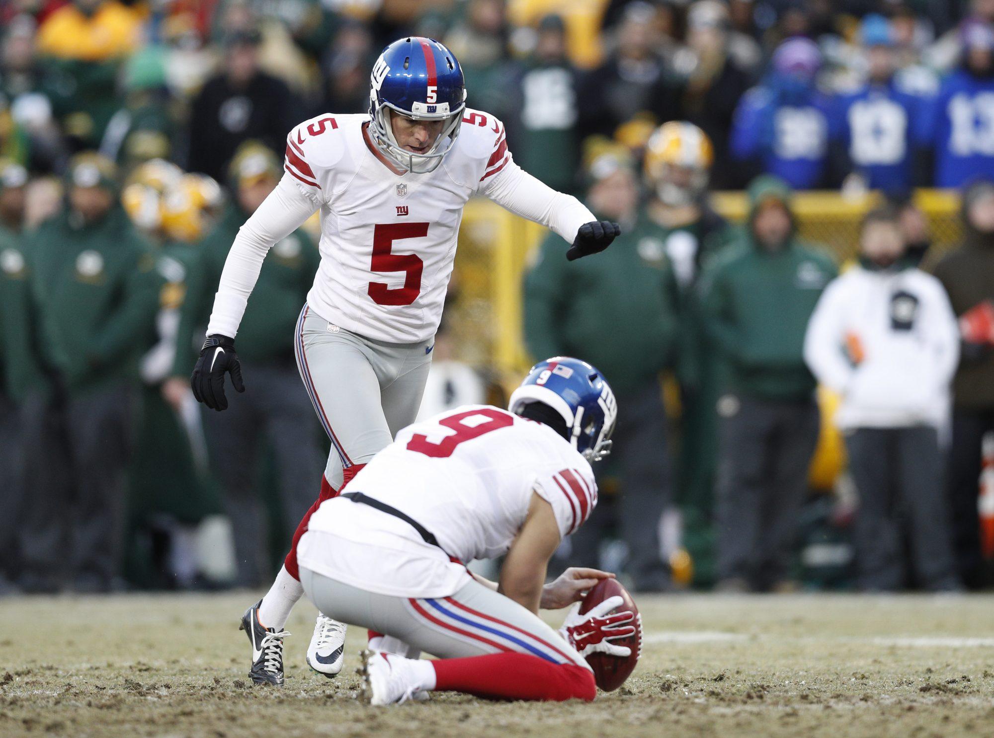 New York Giants Kicker Robbie Gould To Test Free Agency