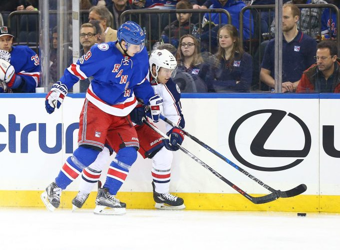 New York Rangers' Jesper Fast will be out 2-3 weeks with upper-body injury