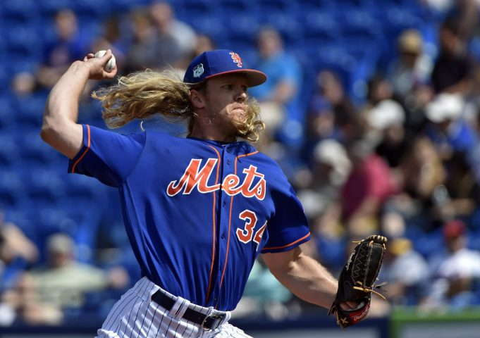 New York Mets' Noah Syndergaard Is All 'Game Of Thrones' Crazy