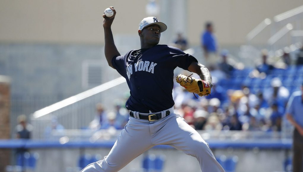 New York Yankees Name Luis Severino As Fourth Starter (Report)