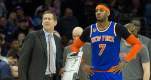 New York Knicks: Carmelo Anthony Doesn't Want to Talk About Next Year