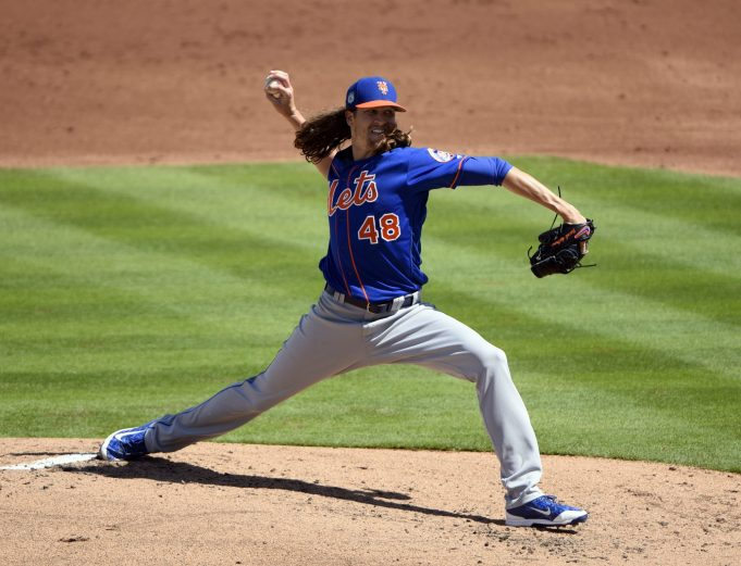 New York Mets' Jacob deGrom Threw Harder in First Outing Than All of 2016