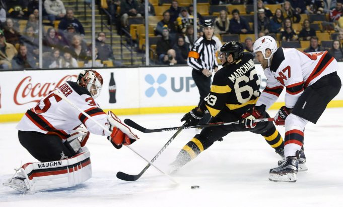 New Jersey Devils Fail To Play 60 Minutes In Loss To Boston Bruins (Highlights)