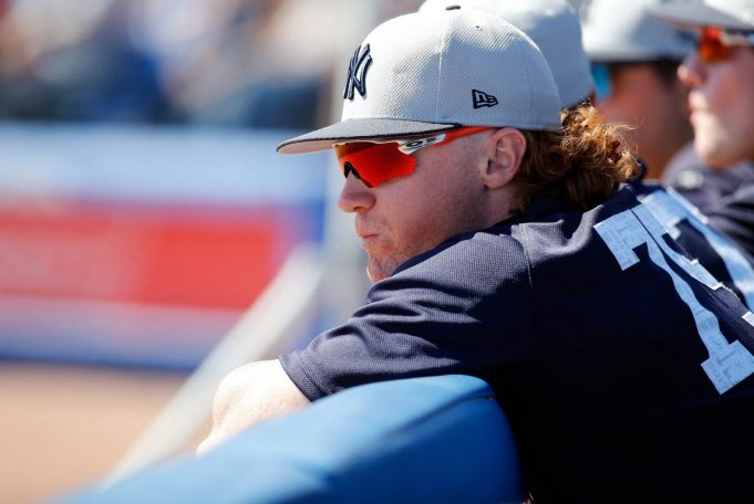 Clint Frazier Gets Hair Buzzed To Abide By New York Yankees Policy (Photo)