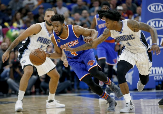 The New York Knicks Should Start Chasson Randle and Ron Baker For the Remainder of the Year 1