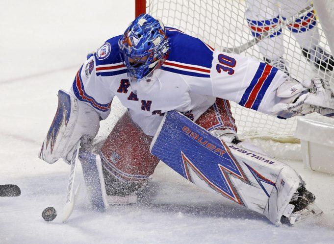 New York Rangers' Henrik Lundqvist Out (Lower-Body), Brandon Halverson Called-Up