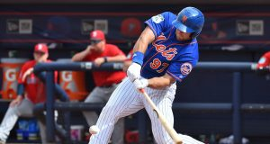 Tim Tebow Strikes Out Twice, Gets Hit By Pitch in New York Mets Debut (Highlights)