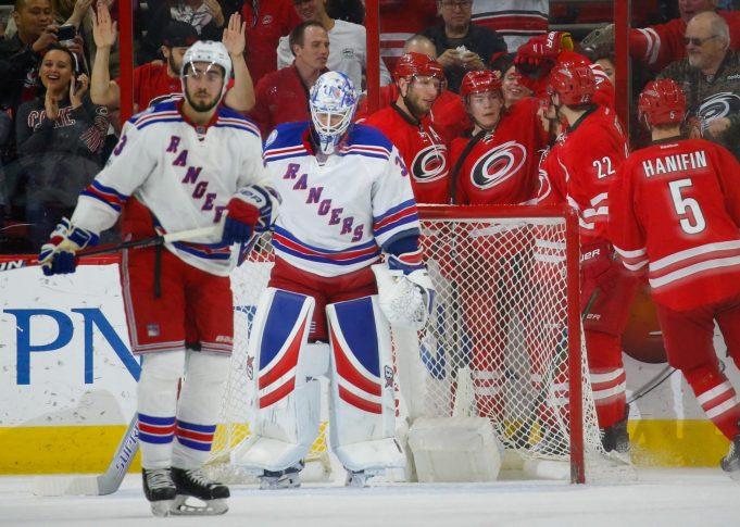 New York Rangers 3, Carolina Hurricanes 4: Antti Raanta, Defense Fall Flat (Highlights)