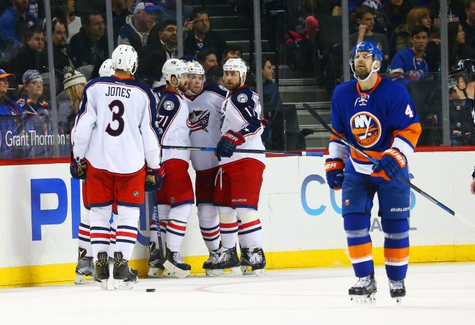 New York Islanders Rally, Fall Short to Blue Jackets In Overtime (Highlights)