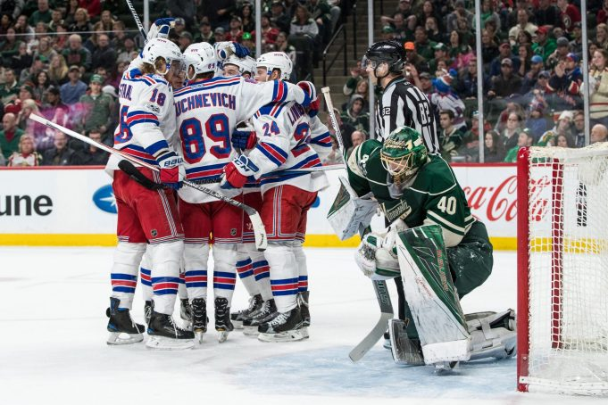 The New York Rangers Showcase That Road Warrior Mentality in Minnesota (Highlights)