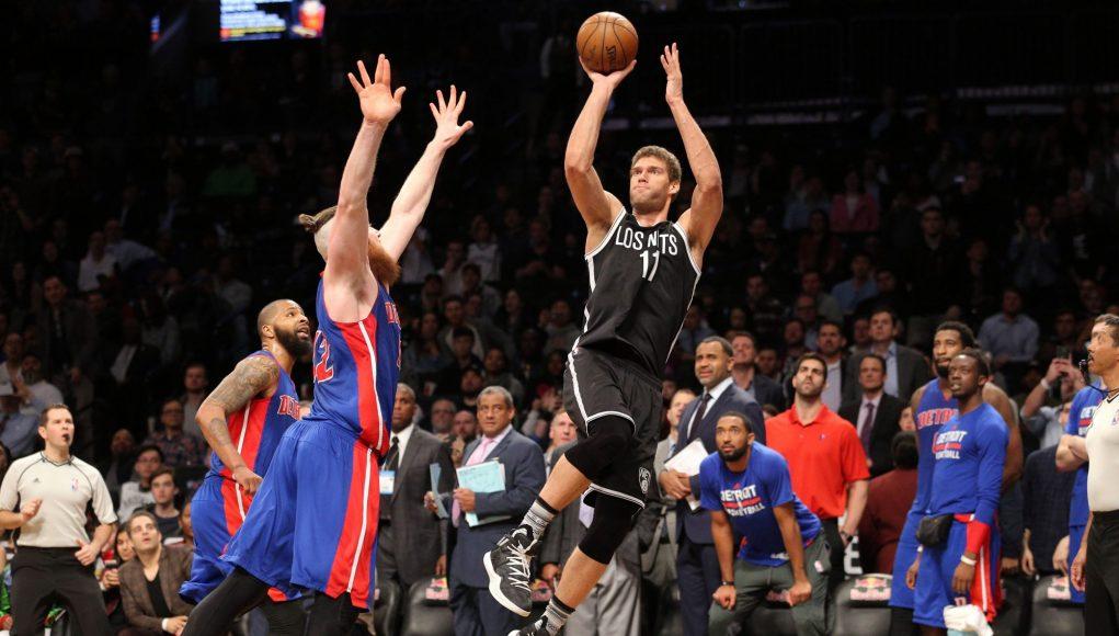 Brooklyn Nets Top Detroit Pistons On a Brook Lopez Buzzer-Beater (Highlights)