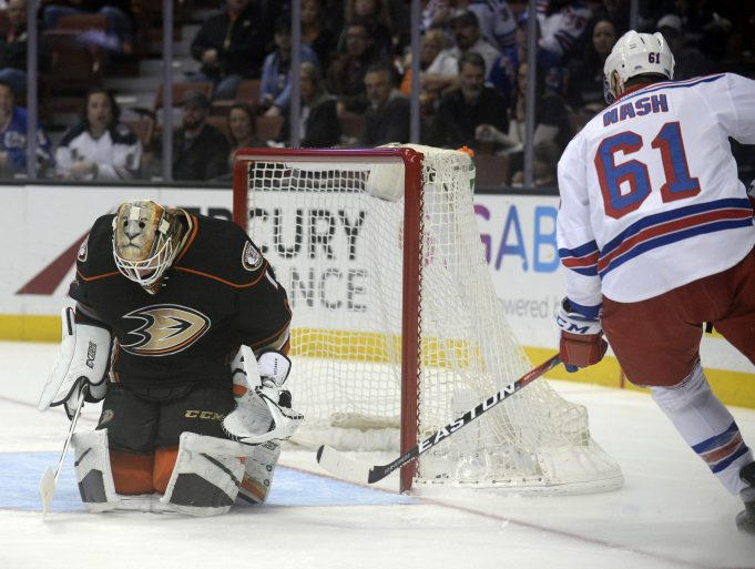 New York Rangers Round-Up, 03/28/17: Laying an Egg in Anaheim, Sign College Free Agent Vinni Lettieri (Highlights)
