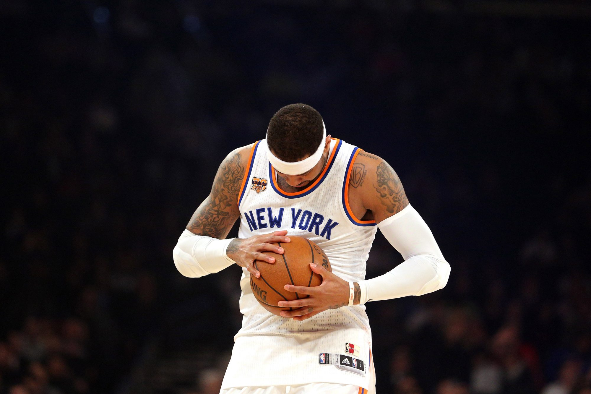 Every Sign Is Present That Carmelo Anthony Is Putting His New York Knicks Career To an End