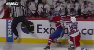 New York Rangers' Ryan McDonagh Crushes Andrew Shaw Along the Boards (Video)