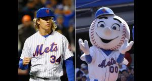 New York Mets Ace Noah Syndergaard Has an Actual Phobia of Mr. Met (Video)