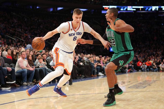 New York Knicks: Kristaps Porzingis Is Still Hanging Out in the City