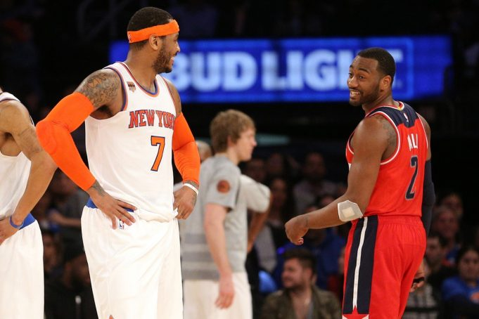 New York Knicks News Mix, 4/7/17: Wizards Backcourt Owns 'Dead' Madison Square Garden