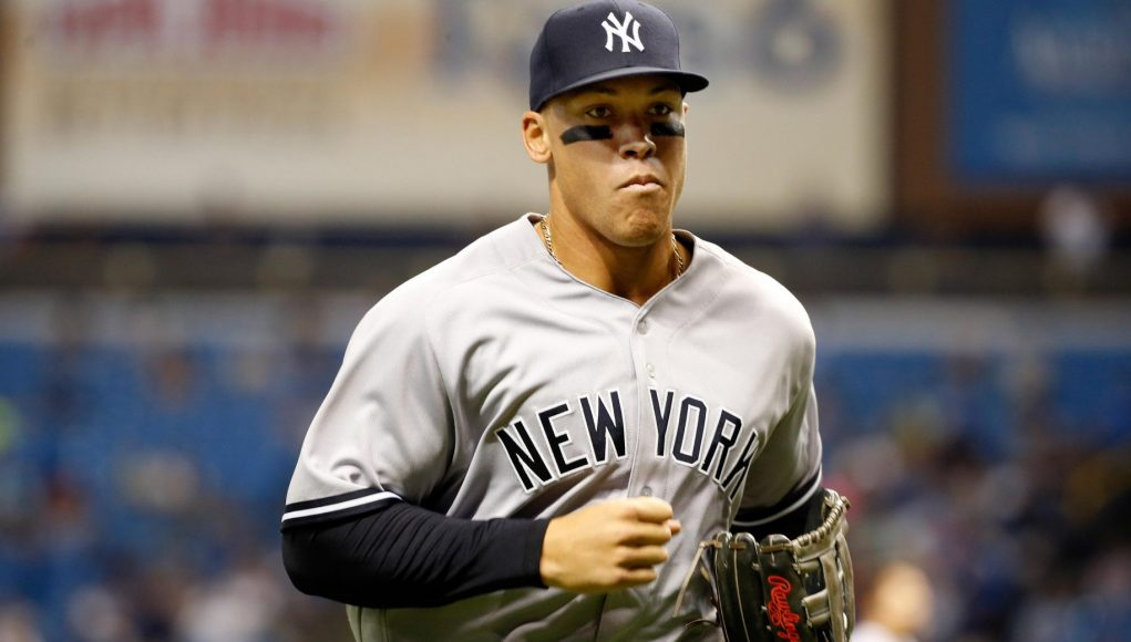 Monster Aaron Judge Is the New Face of the New York Yankees